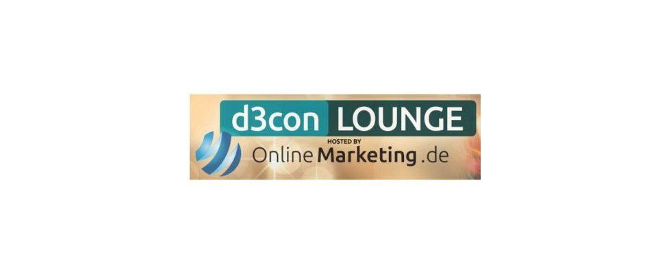 d3con-Lounge: OnlineMarketing.de veranstaltet die offizielle After-Show-Veranstaltung zur d3con!