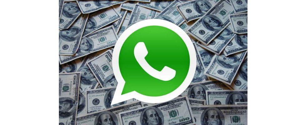 WhatsApp: Monetarisierung des Nachrichtendiestes startet ab 2016