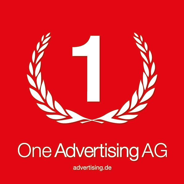 One Advertising AG - Logo - Quadrat - Rot