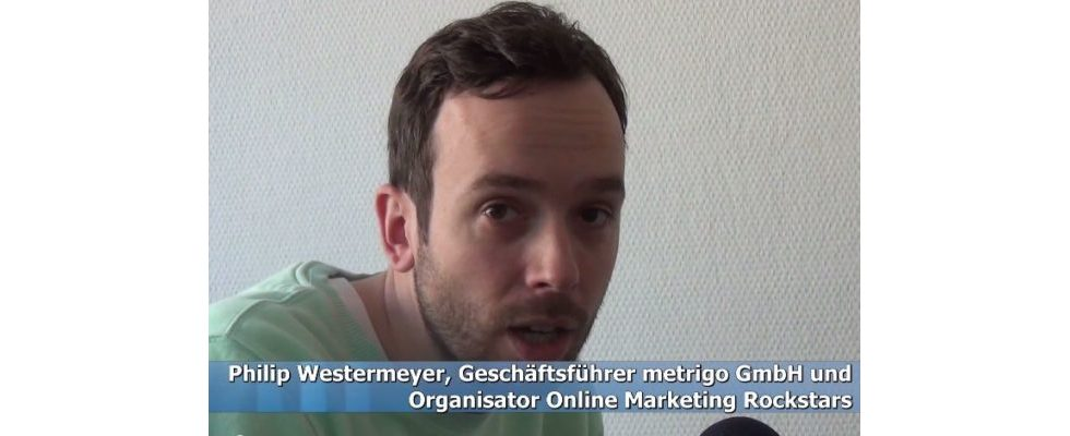"""""""Einen geilen Tag hinzaubern"""" – Philipp Westermeyer im Video-Interview zur Online Marketing Rockstars 2014 & Ticketverlosung"""