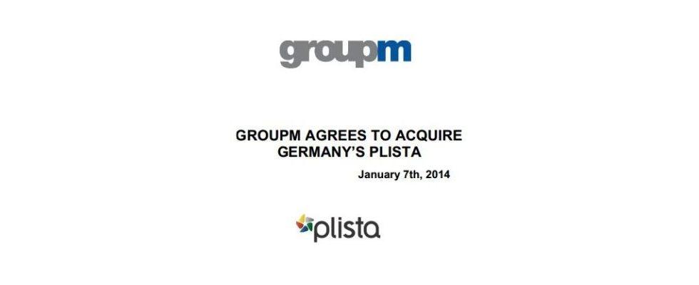 Übernahme: GroupM kauft plista – auf dem Weg zum Global Player
