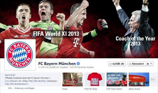 FC Bayern München auf Facebook