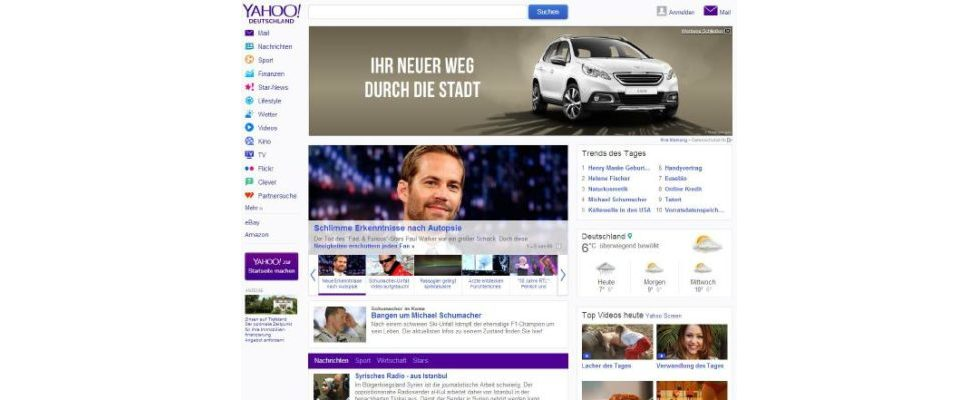 Gefährliche Display-Ads: Tausende Nutzer infizierten sich auf Yahoo.com mit Malware
