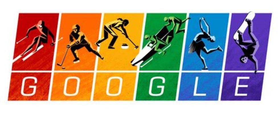 Google Doodle von heute: Olympische Charta