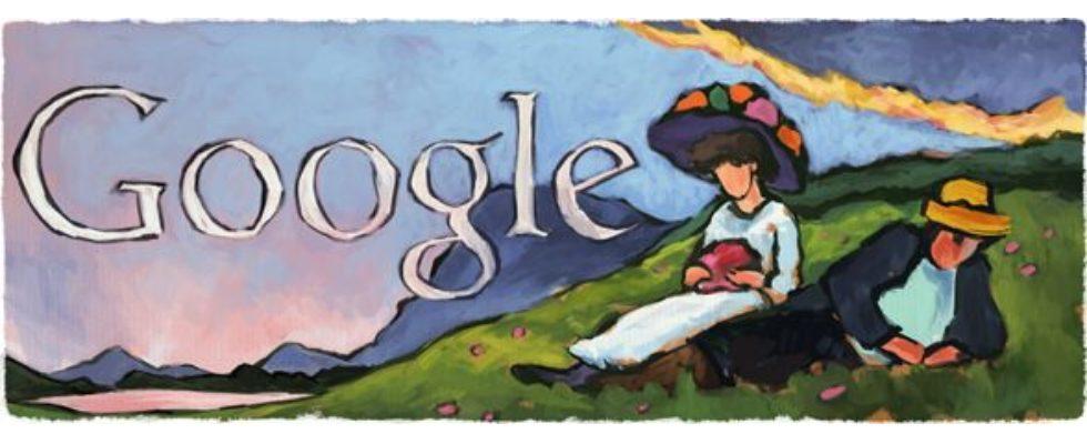 Google Doodle von heute: Gabriele Münter