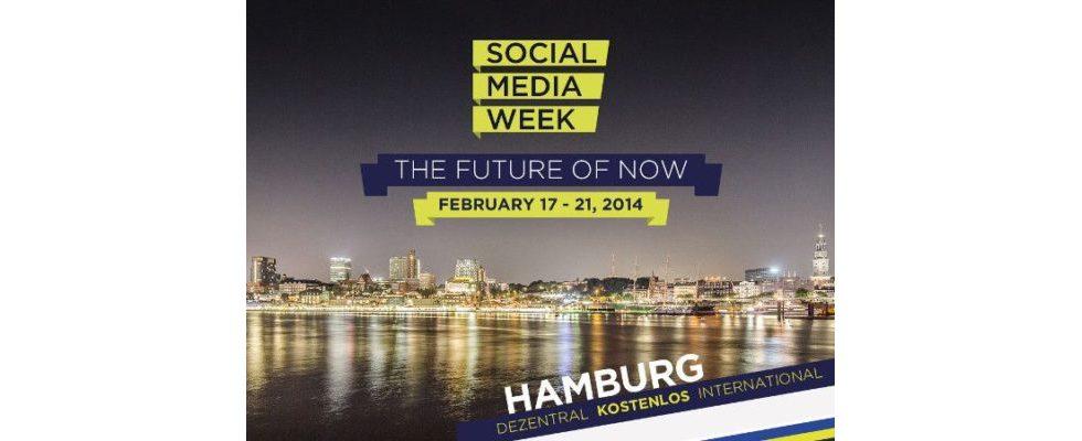 Social Media Week 2014 in Hamburg hat begonnen – Kostenlose Anmeldungen sind noch immer möglich