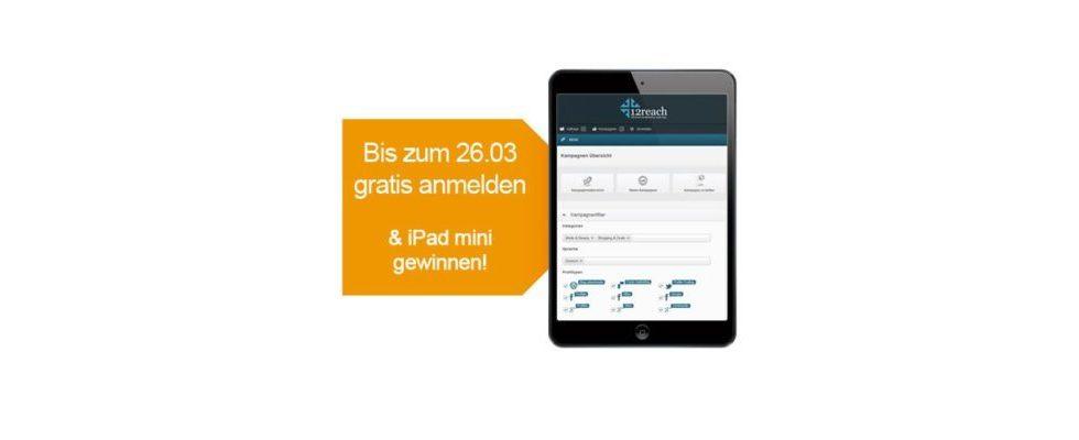 """[Sponsored] 12reach Multi-Channel Werbenetzwerk für die """"neuen SEOs"""" inkl. iPad Mini Gewinnspiel exklusiv für OnlineMarketing.de Leser"""