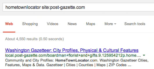 google-misattribution-gazette
