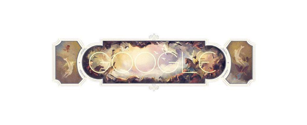 Google Doodle von heute: Giambattista Tiepolo – seine Werke sind auch in Bayern zu sehen