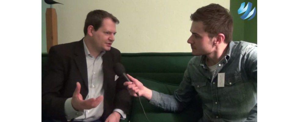 """""""Eine Plattform händlerübergreifend etablieren, die auf Beacons basiert"""" – Sarik Weber, Yoints GmbH, im Videointerview"""