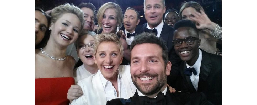 Oscars 2014: Promi-Selfie legt Twitter lahm