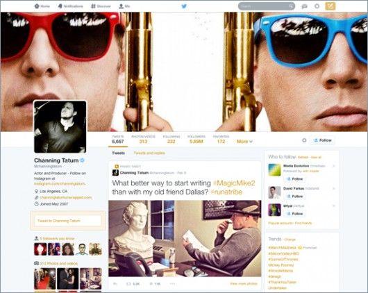 Channing Tatum Twitter Profil