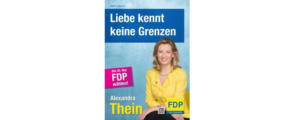Porno statt Politik: QR-Code auf FDP-Wahlplakaten sabotiert