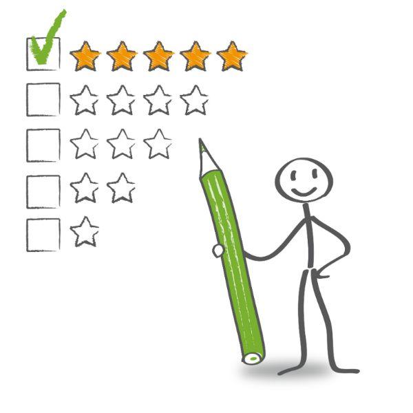 Die Macht der Kundenbewertungen: Produkte mit positivem Rating verkaufen sich um 200% besser