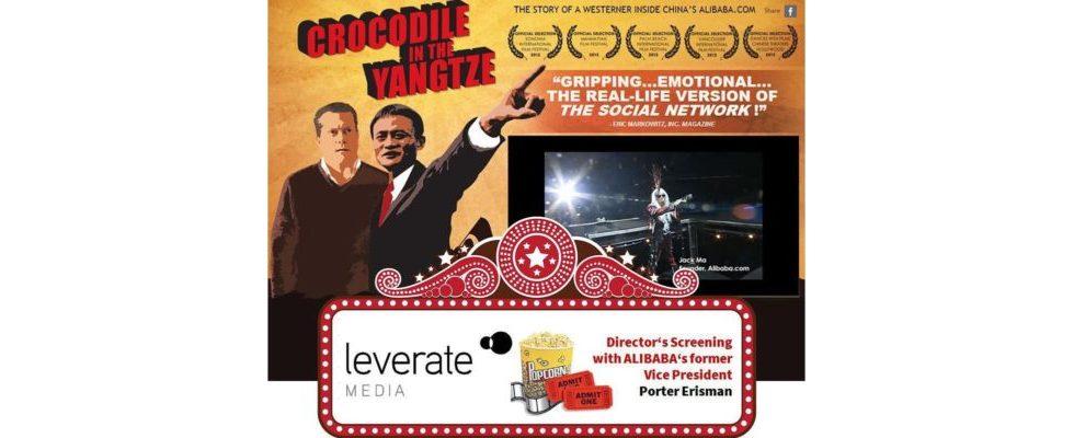 """Ticketverlosung für die Film-Premiere von """"Crocodile in the Yangtze"""" – eine Dokumentation über Chinas größtes IT-Unternehmen Alibaba"""