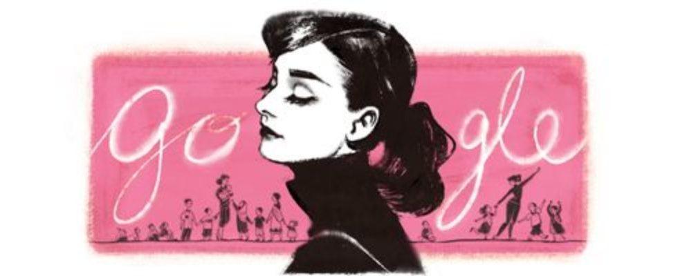 Google Doodle von heute: Audrey Hepburn