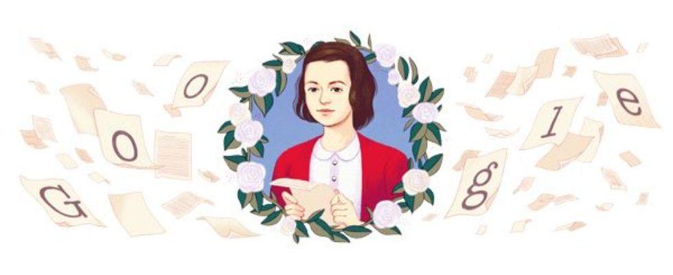 Google Doodle von heute: Sophie Scholl