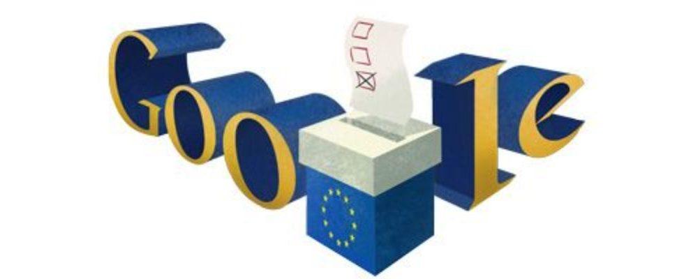 Google Doodle von heute: Europawahl 2014