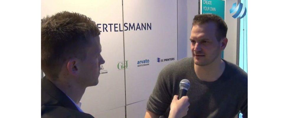"""""""Die Zukunft ist digital"""" – Nico Rose, Bertelsmann, im Videointerview"""