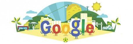 Google Doodle von heute: Fußball-Weltmeisterschaft 2014
