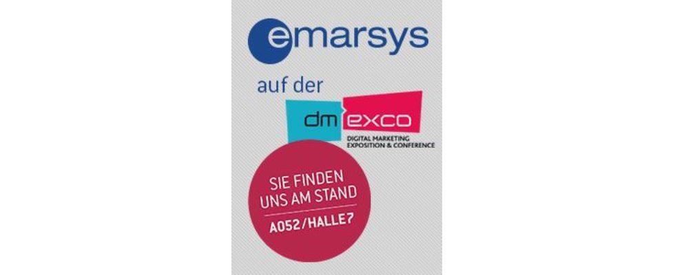 """Totally Different – Treat every customer differently, however similar they seem"" lautet der diesjährige dmexco-Slogan von Emarsys"