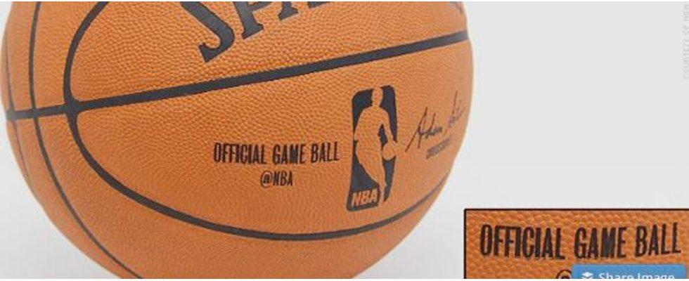 Twitter Werbung auf dem offiziellen NBA-Basketball – Ein Novum in der Sportgeschichte