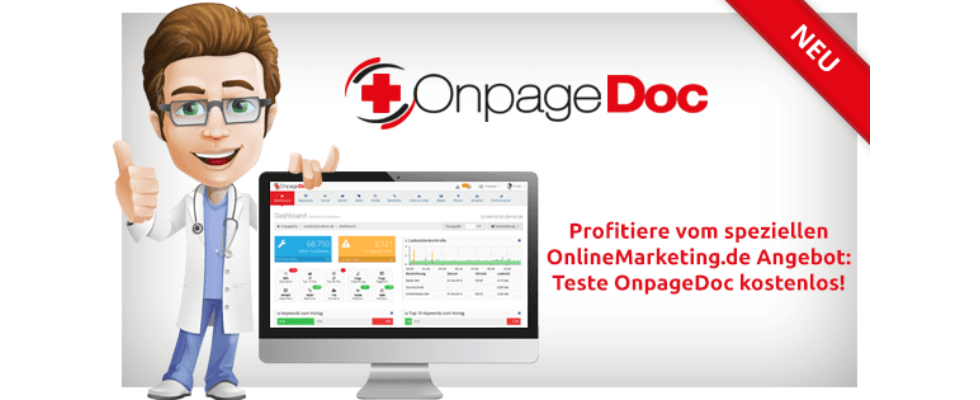 Tool-Check: Ganzheitliches SEO mit OnpageDoc [Sponsored Post]