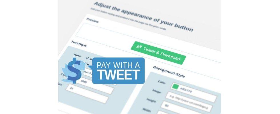 Pay With A Tweet – die erste wirklich kundenfreundliche Paywall [Sponsored Post]