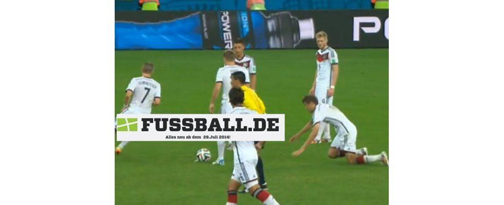 Der Relaunch von Fussball.de stolpert wie Thomas Müller beim Freistoß gegen Algerien
