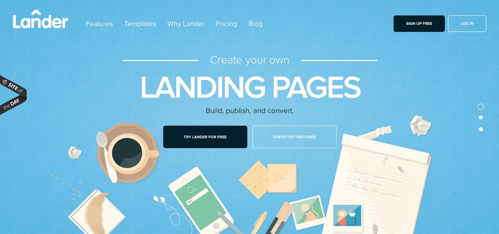 Landing Pages Erstellen Beispiele Tipps Tools Templates 2