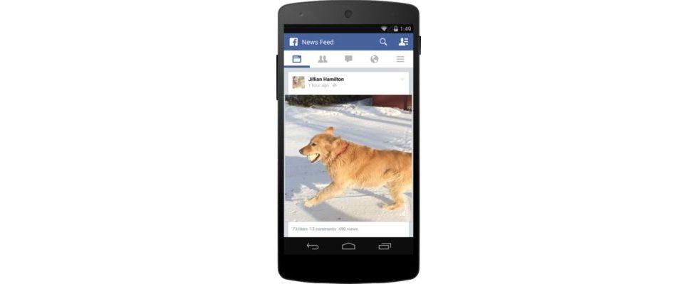 Videos auf Facebook ab jetzt mit View Counter und Vorschlägen
