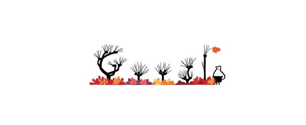 Google Doodle von heute: Herbstanfang