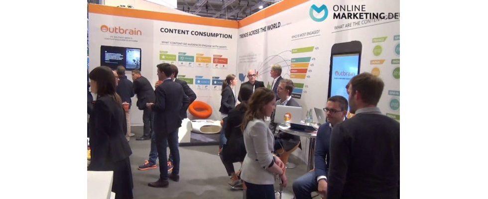 """""""Im Internet wird das Interesse für Content immer der Treiber sein"""" – Alex Erlmeier, Outbrain, im Videointerview"""