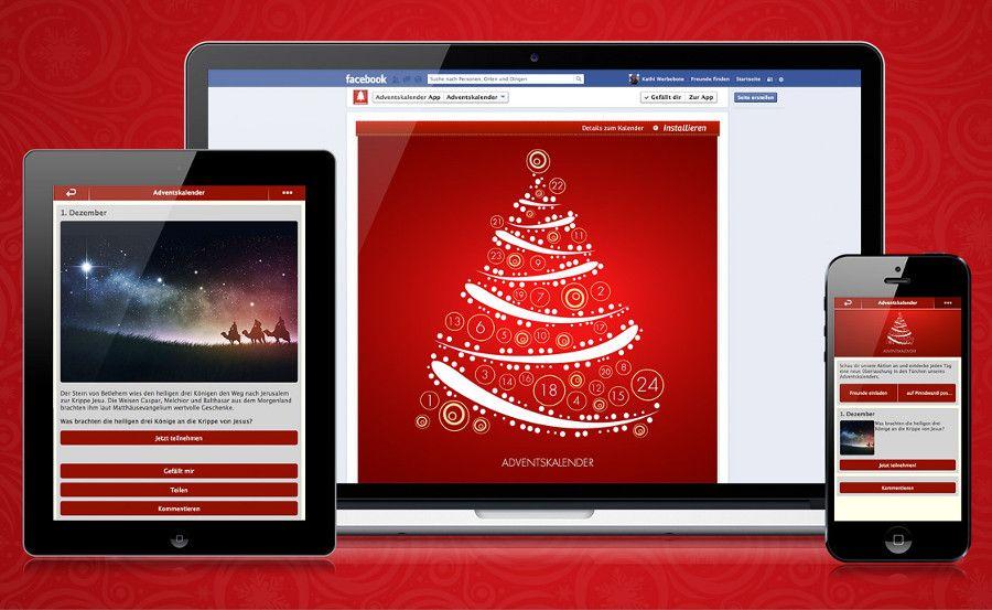 Die Vorteile eines individuellen Facebook-Adventskalenders [Sponsored]