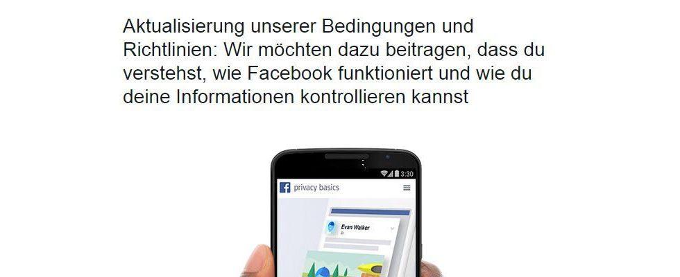 Facebook öffnet Tür für ortsbezogene Werbung: Änderung der Richtlinien im Sinne des Users