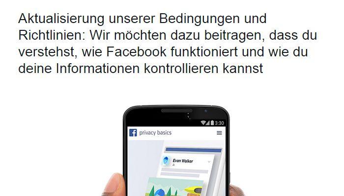 Facebook Richtlinien