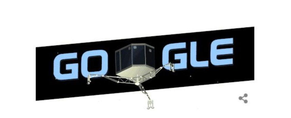 Google Doodle von heute: Philae