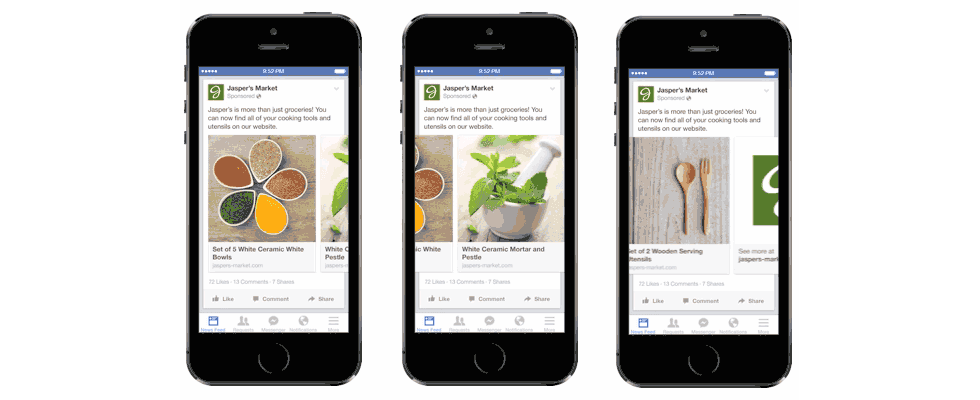 Facebook Multi-Product-Ads: der Turbo für die Xmas Vermarktung