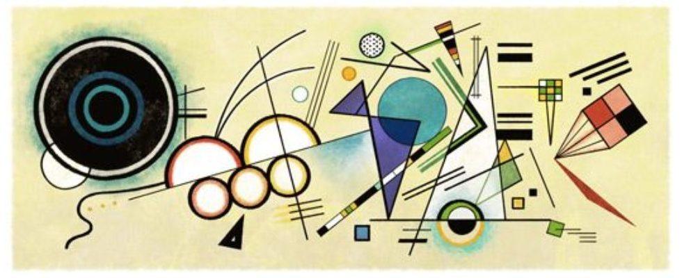 Google Doodle von heute: Wassily Kandinsky