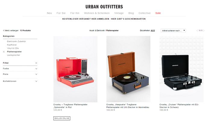 © Urban Outfitters
