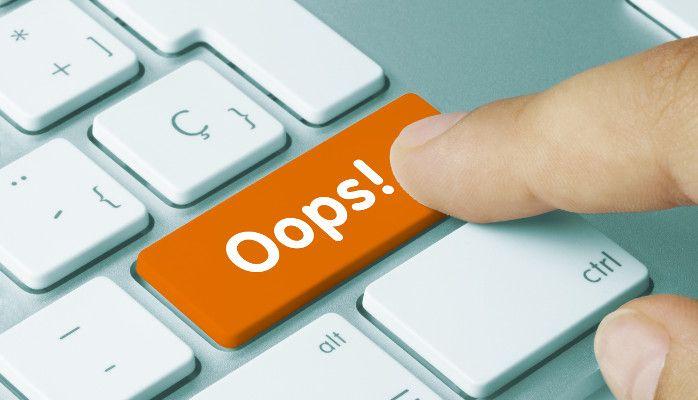 Oops! Kundenservice geht besser (© momius - Fotolia.com)