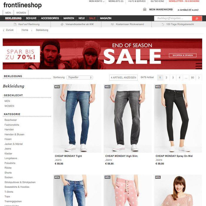 Fashionette Online Shop