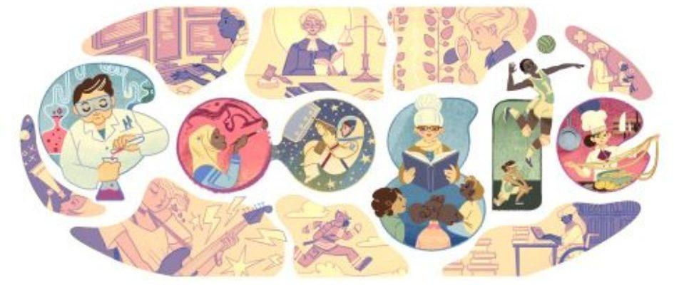 Google Doodle von heute: Internationaler Frauentag 2015