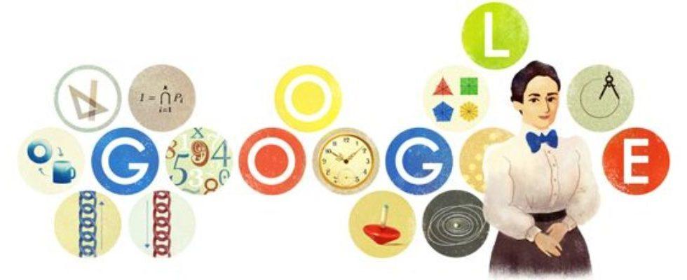 Google Doodle von heute: Emmy Noether