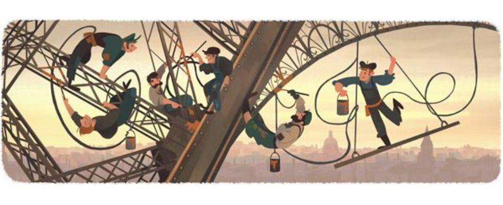 Google Doodle von heute: Wann wurde der Eiffelturm eröffnet?