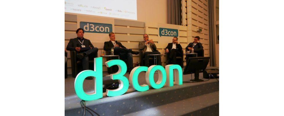 Recap: d3con 2015 – Führende Konferenz zur Zukunft des Display Advertising