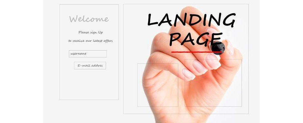 Der Feinschliff beim Design deiner Landing Page
