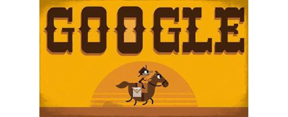 Google Doodle von heute: Pony Express