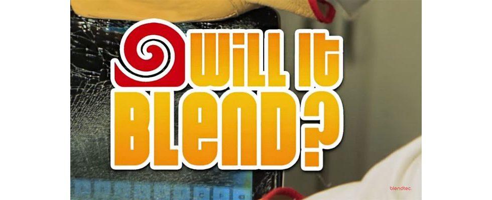 """""""Will it Blend?"""" – Content Marketing auf Basis von sinnloser Zerstörung"""