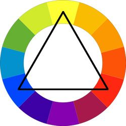Psychology of Colors - Triadic